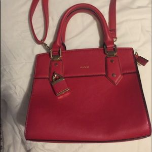 Aldo Red Mini Purse